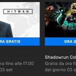 videogiochi gratis epic games store hitman shadowrun