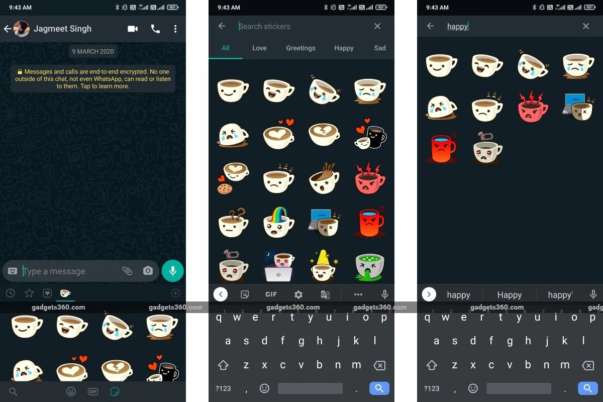 whatsapp sticker ricerca