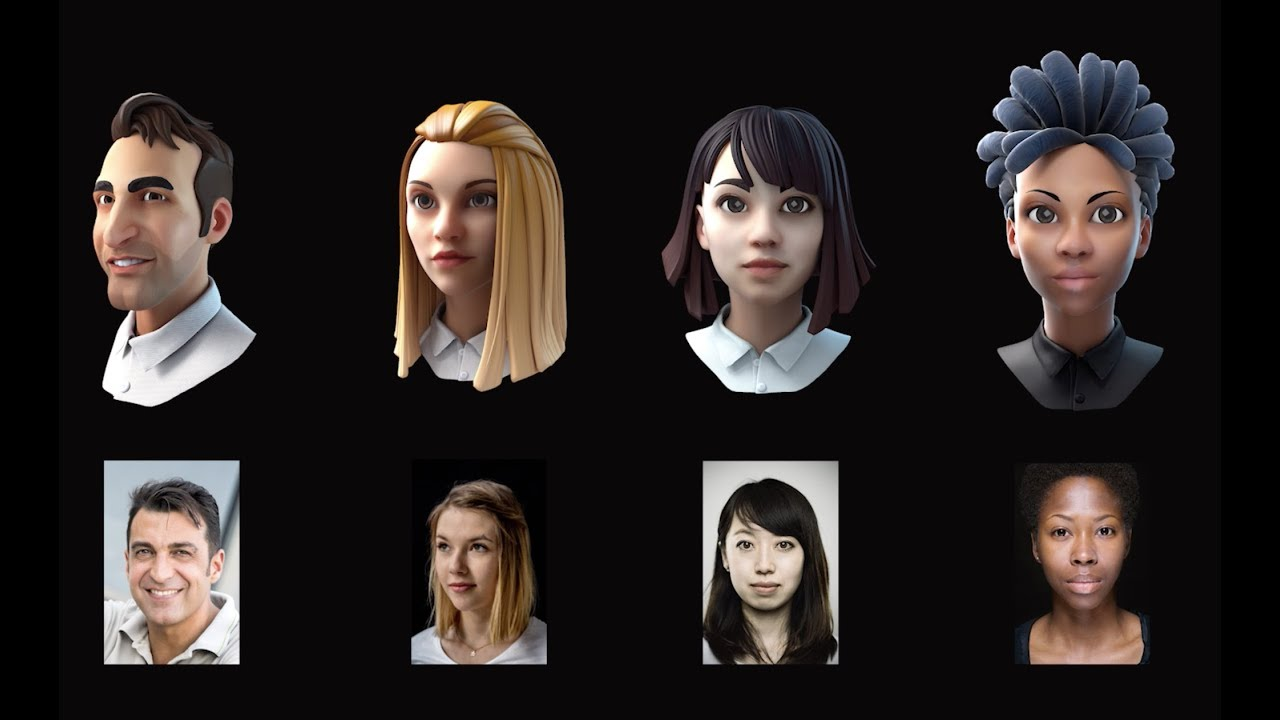 Ready Player Me è il progetto che punta a creare avatar 3D da un selfie thumbnail