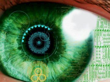 Occhio bionico copertina