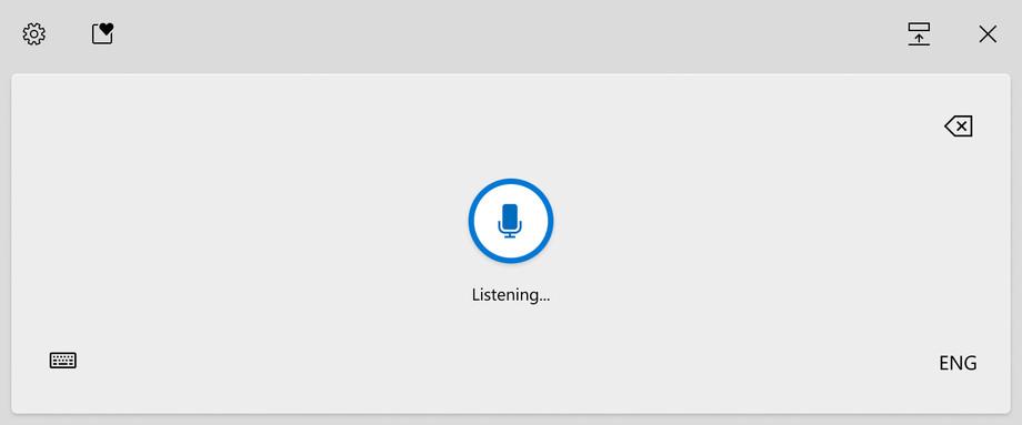 Windows Voice Typing