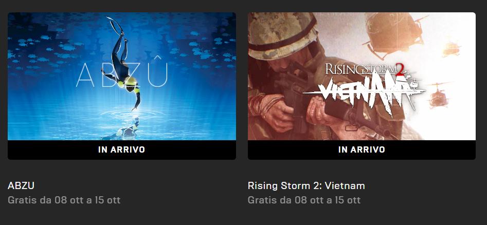 Abzu gioco gratis epic games store