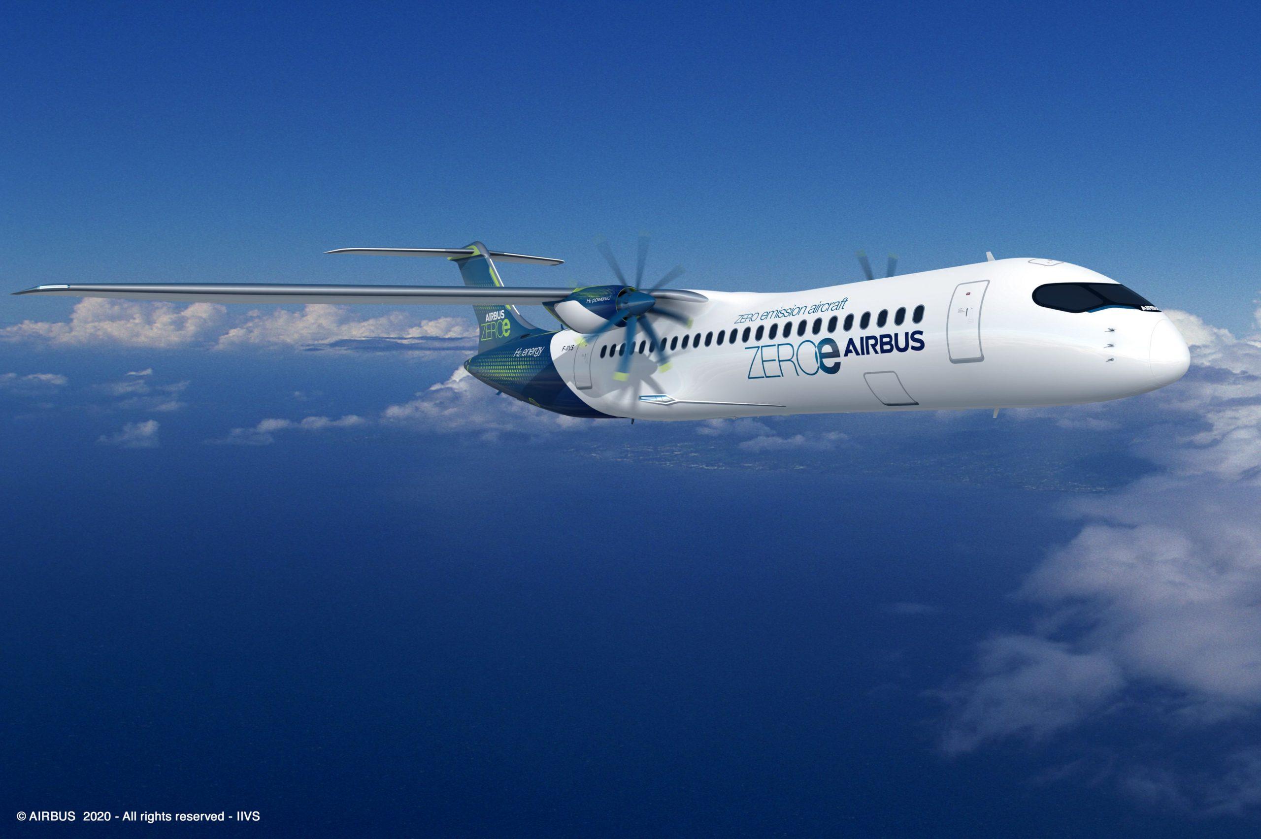 AirbusZEROe Turboprop Concept