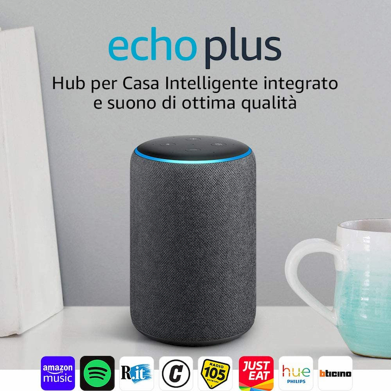 Amazon Echo Plus seconda generazione