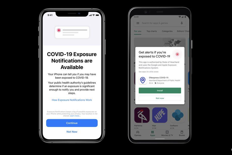 Apple e Google annunciano un nuovo sistema per tracciare l'esposizione al Covid-19 thumbnail