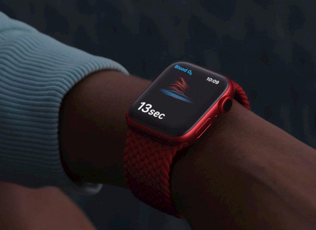 Apple Watch Series 6 ossigenazione sangue