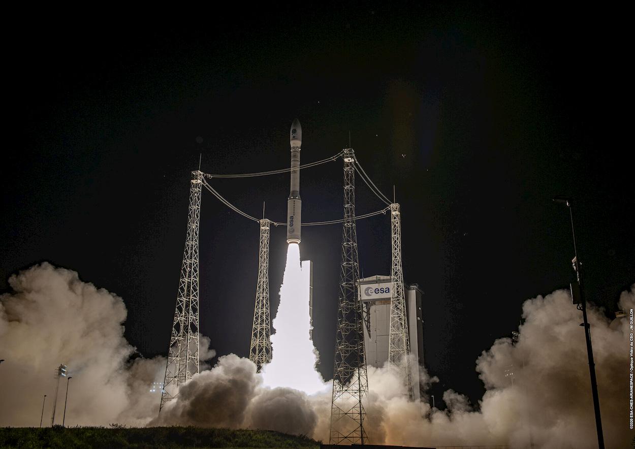 Il razzo europeo Vega tornare a volare dopo più di un anno thumbnail