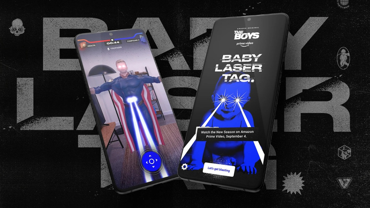 Baby Laser Tag è il nuovo gioco di realtà aumentata della serie Amazon The Boys thumbnail