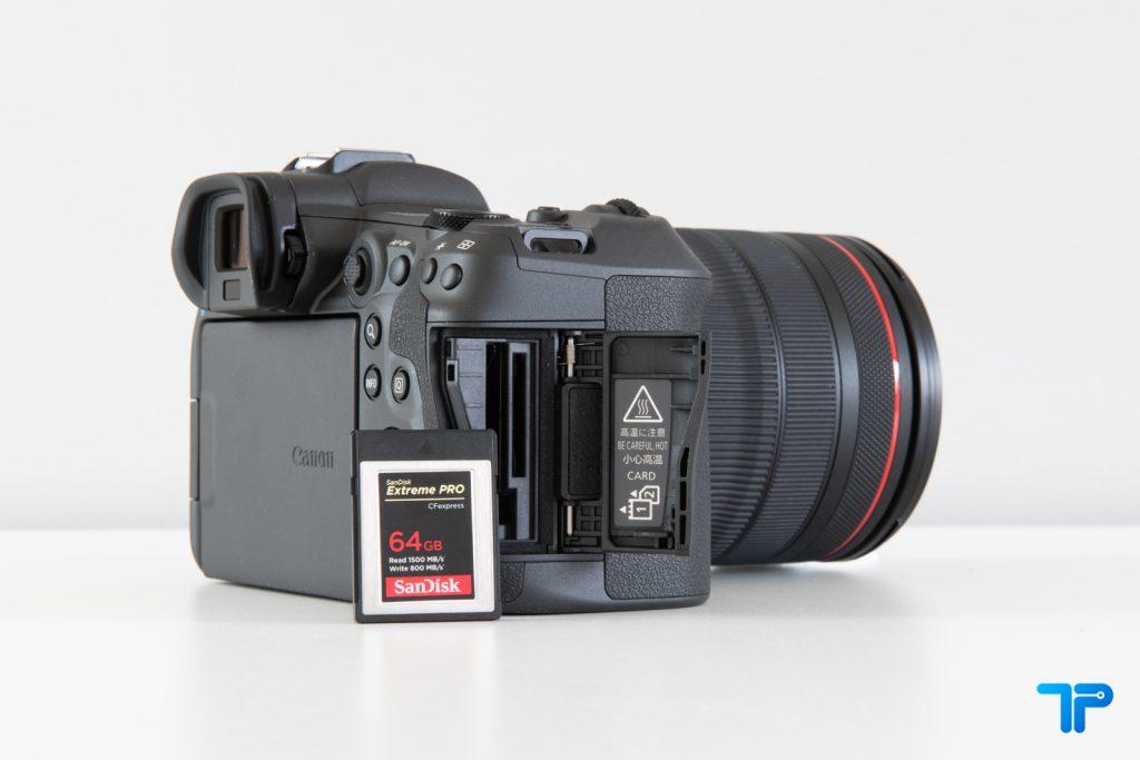 EOS R5 CFexpress