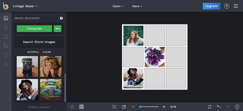 Collage Maker migliori siti modificare foto