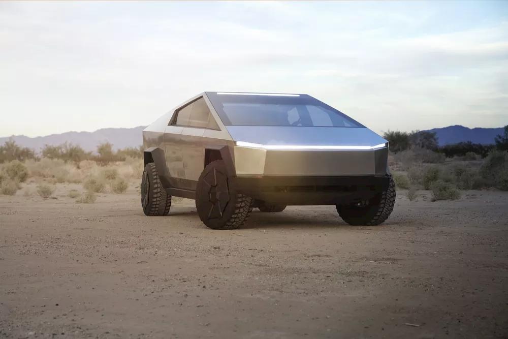 Elon Musk 2020 Tesla Cybertruck