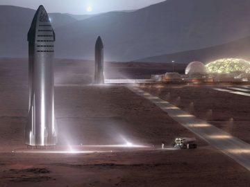 Elon Musk Marte Starship
