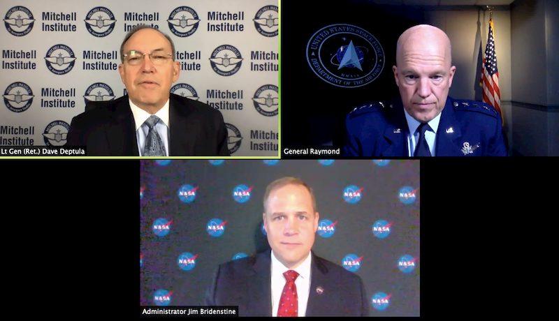 NASA Space Force accordo incontro