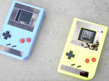 Game Boy senza batterie
