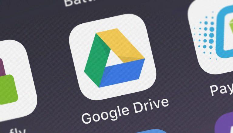 Google Drive cestino