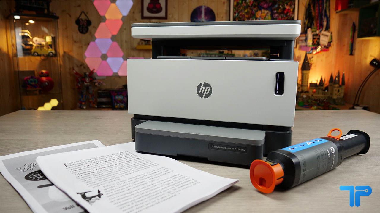 La recensione di HP Neverstop Laser 1202nw. La stampante si rinnova. thumbnail