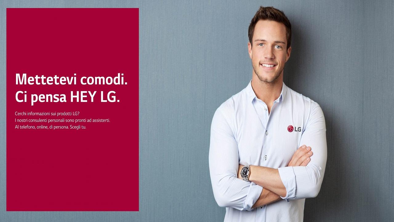 """""""Hey LG"""" è il consulente personale che vi aiuterà con gli acquisti thumbnail"""