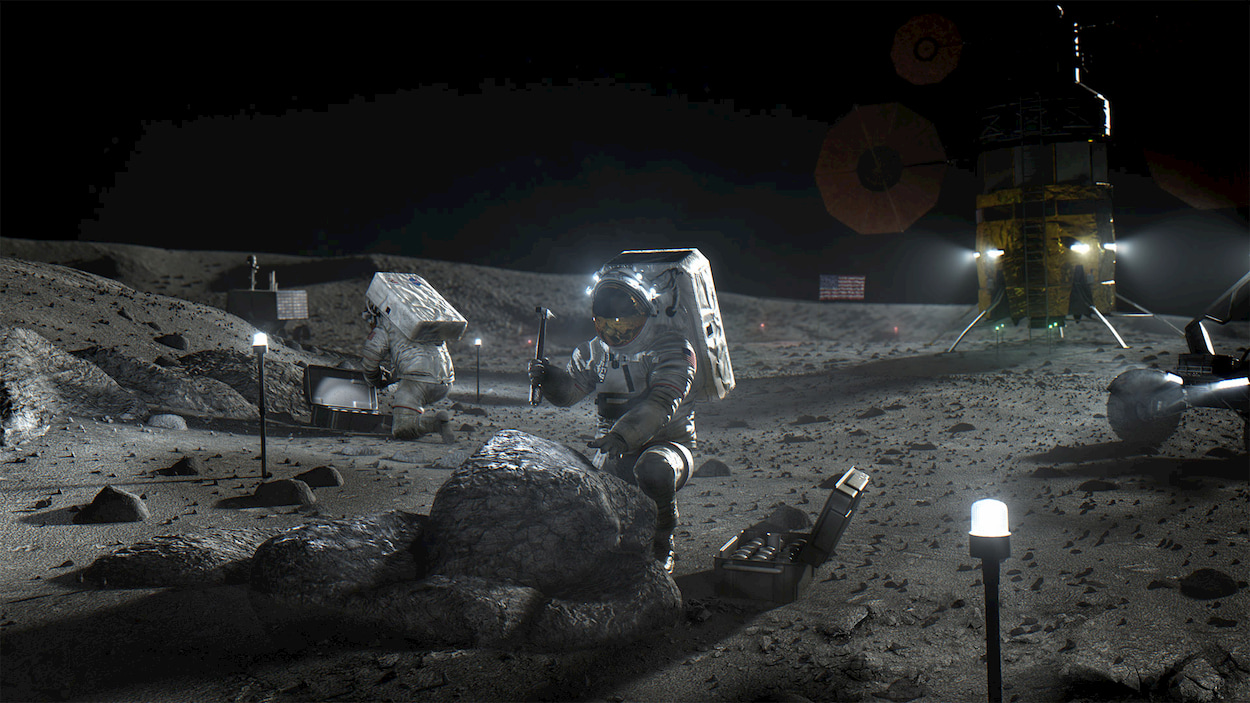 Quando gli USA torneranno sulla Luna, ci sarà anche l'Italia thumbnail