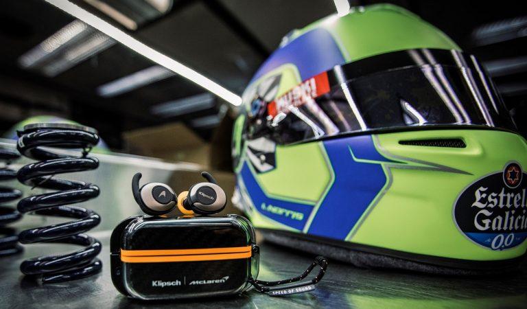 Klipsch e McLaren, una collaborazione reciproca, in pista e sulle tue le T5 II