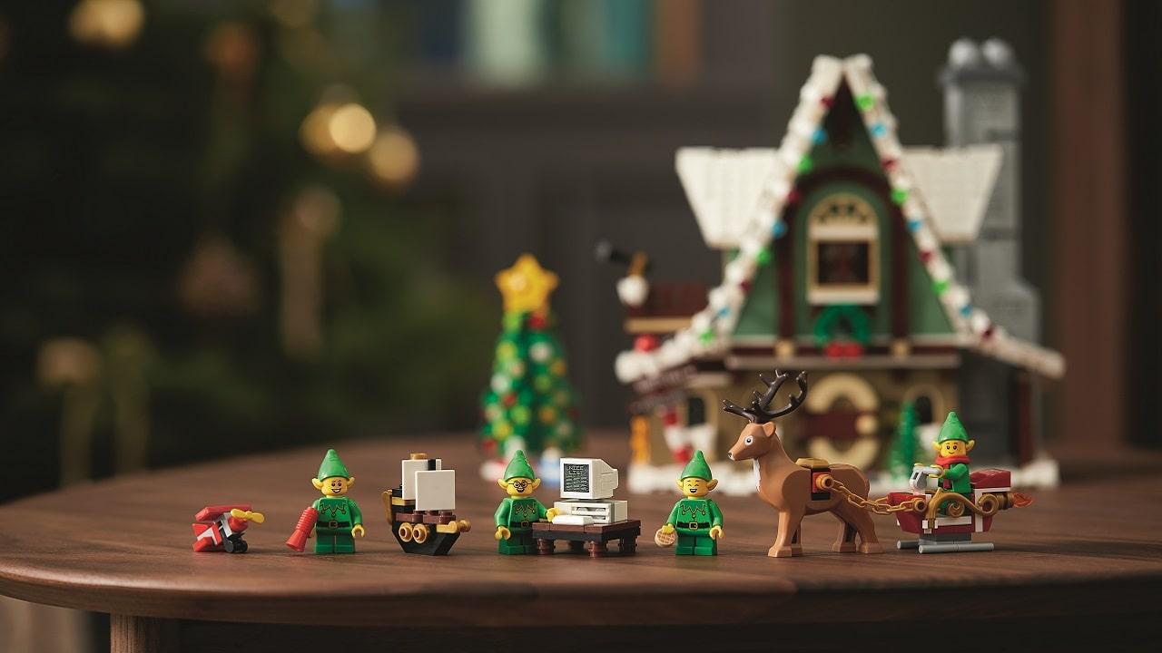 LEGO Elf Club House: il Natale quest'anno arriva in anticipo thumbnail