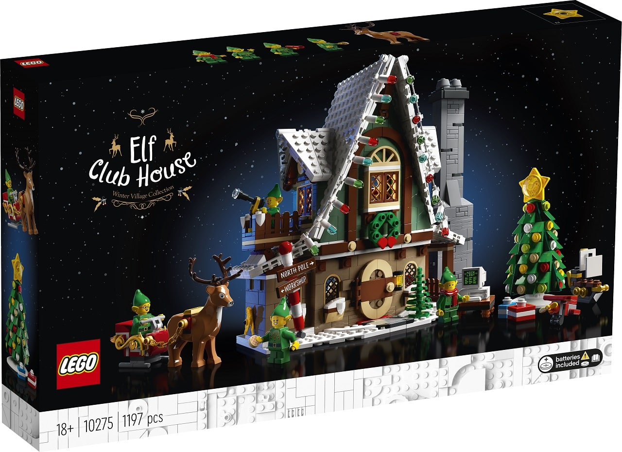 LEGO Elf Club house scatola