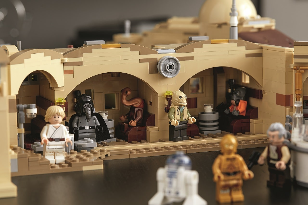 LEGO Star Wars taverna personaggi