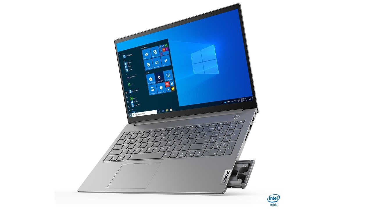 Il nuovo Lenovo ThinkBook fa scomparire gli auricolari thumbnail