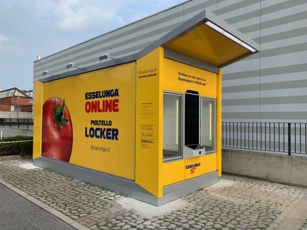 Locker automatizzato Esselunga