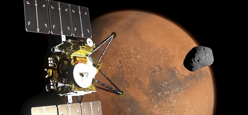 Marte 8K JAXA copertina luna