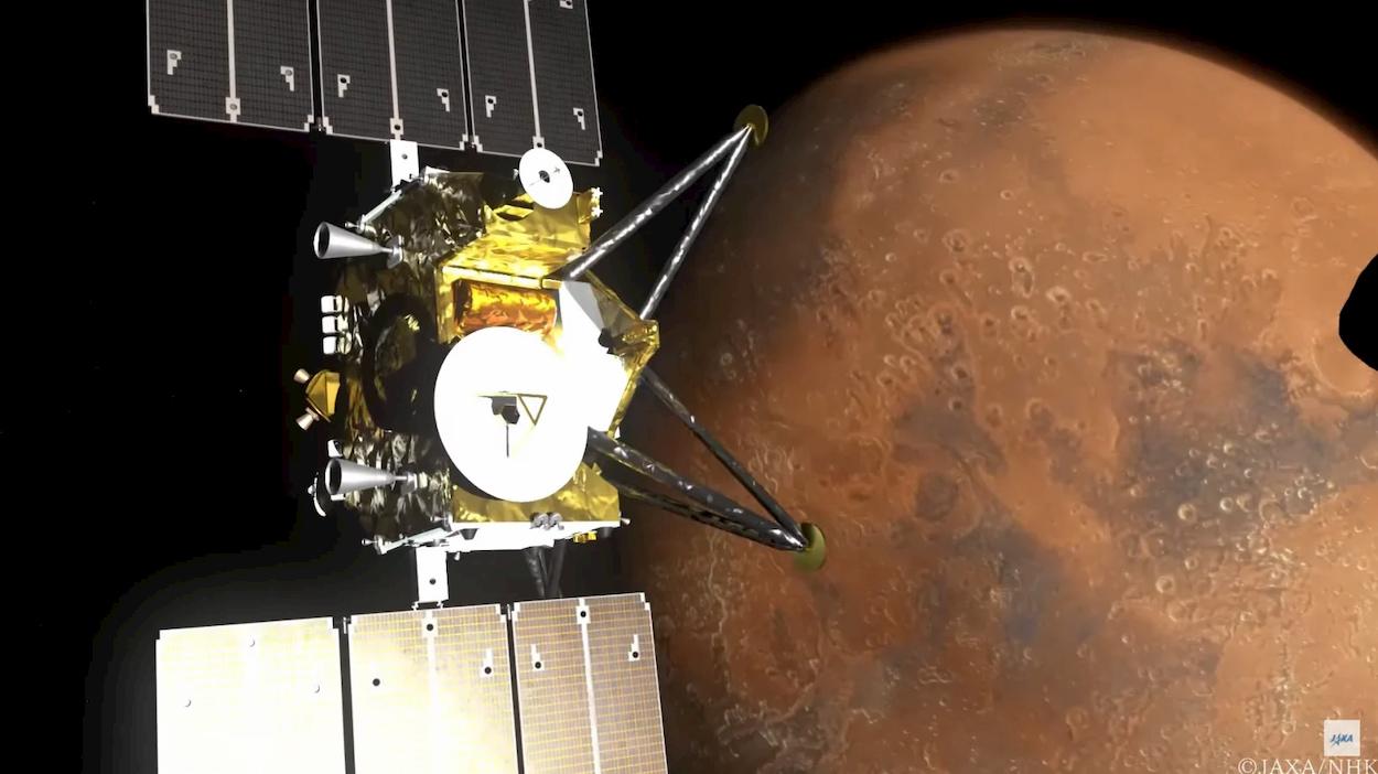 Marte e le sue lune riprese in 8K thumbnail