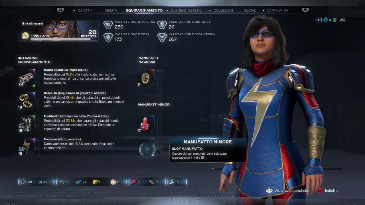 Marvel's Avengers abilità