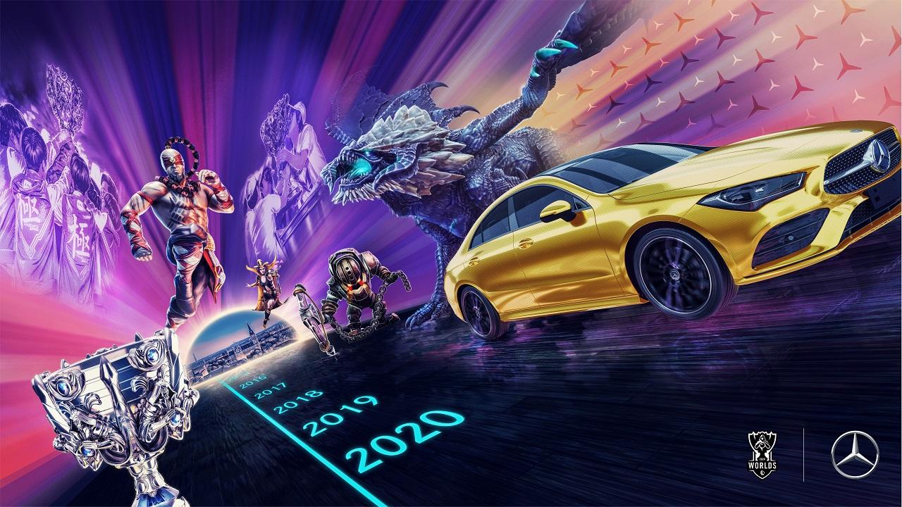 Mercedes-Benz è il nuovo partner automobilistico degli eventi esport internazionali di League of Legends thumbnail