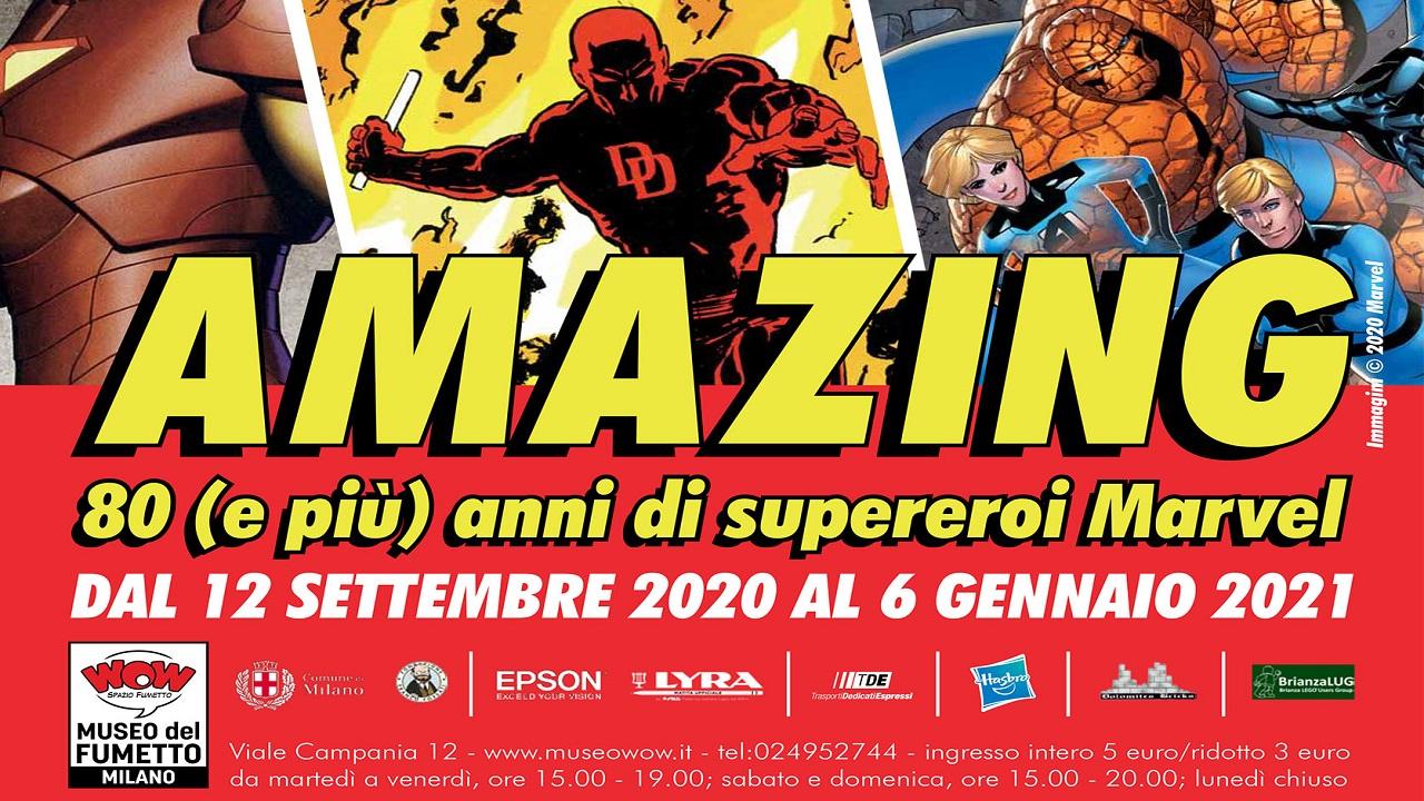 """""""80 (e più) anni di supereroi Marvel"""", la nuova mostra dedicata ai supereroi thumbnail"""