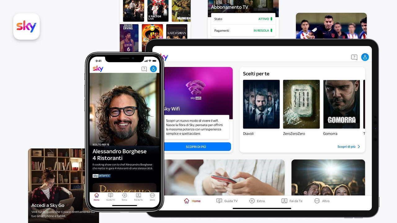 L'app gratuita dedicata ai clienti Sky è arrivata, si chiama My Sky App thumbnail
