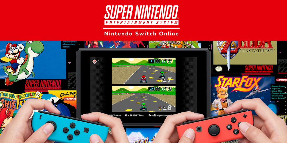 Nintendo Switch Online NES SNES
