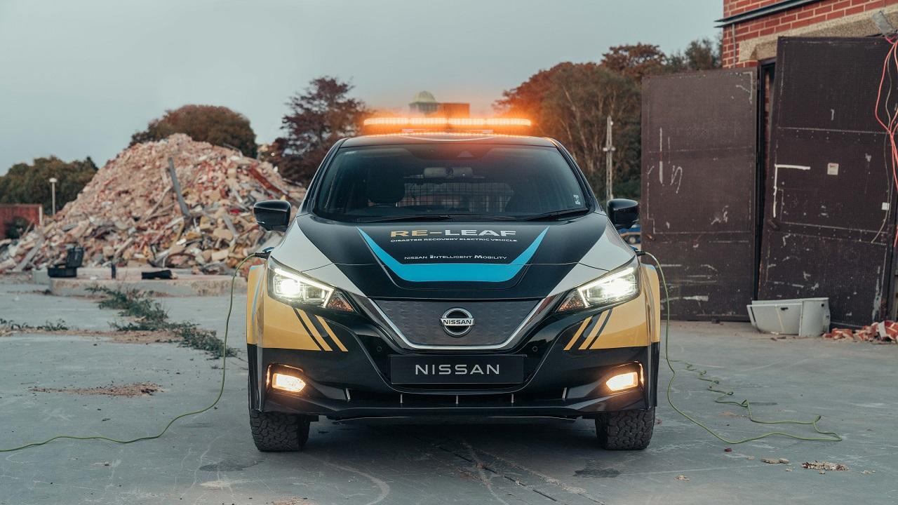 Nissan RE-LEAF: l'auto elettrica diventa un mezzo di primo soccorso thumbnail