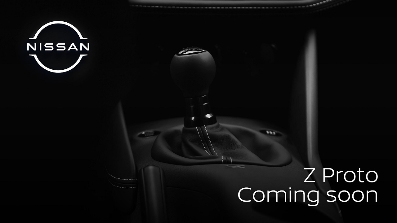 Nissan Z Proto: il nuovo teaser della sportiva conferma il cambio manuale thumbnail