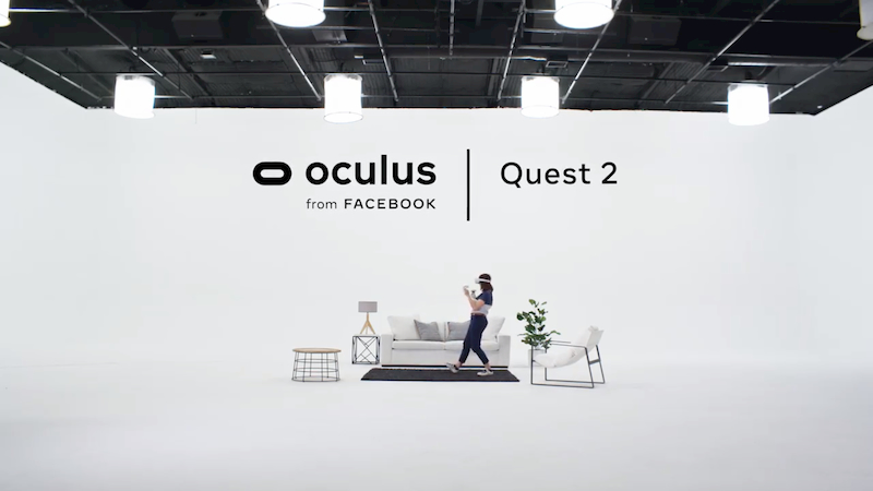Oculus Quest 2 Facebook screenshot