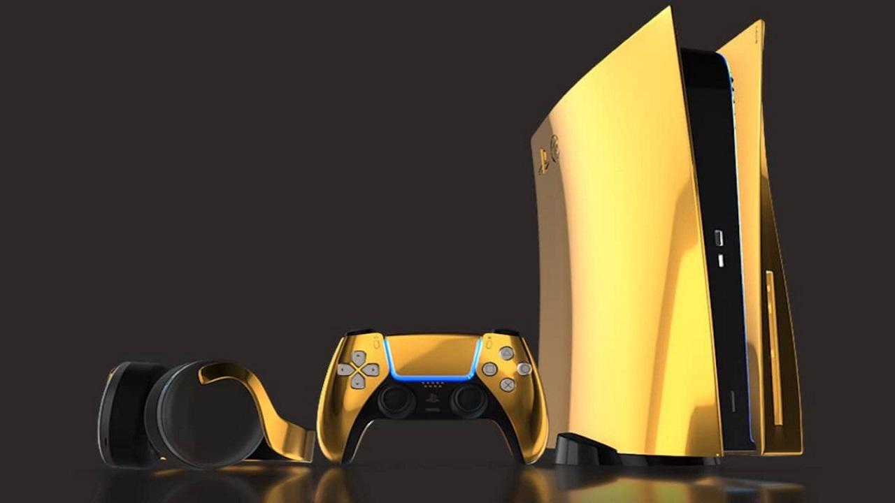 Se avete 9,000 euro a disposizione, potete preordinare la PS5... in oro 24K thumbnail