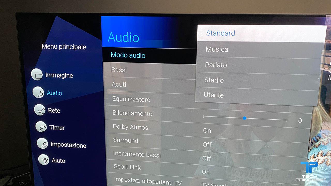 Panasonic HZ1000 audio