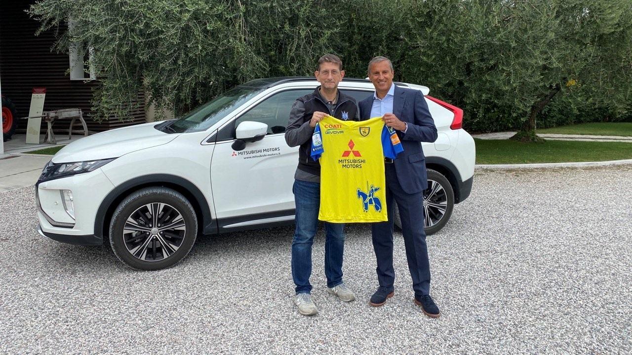Mitsubishi Motors e ChievoVerona rinnovano la loro partnership thumbnail