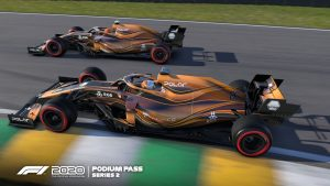 La F1 2020 Podium Pass Series Two è attualmente in corso  Il titolo è disponibile per PlayStation 4, Xbox One, PC e Google Stadia