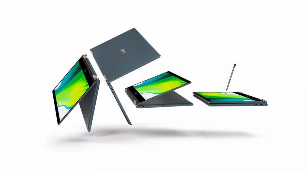 Qualcomm Snapdragon 8cx Gen 2 5G Acer Spin 7