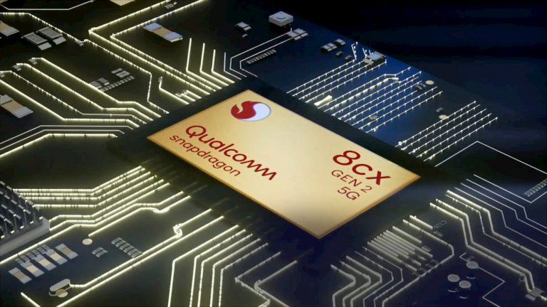 Qualcomm Snapdragon 8cx Gen 2 5G lancio