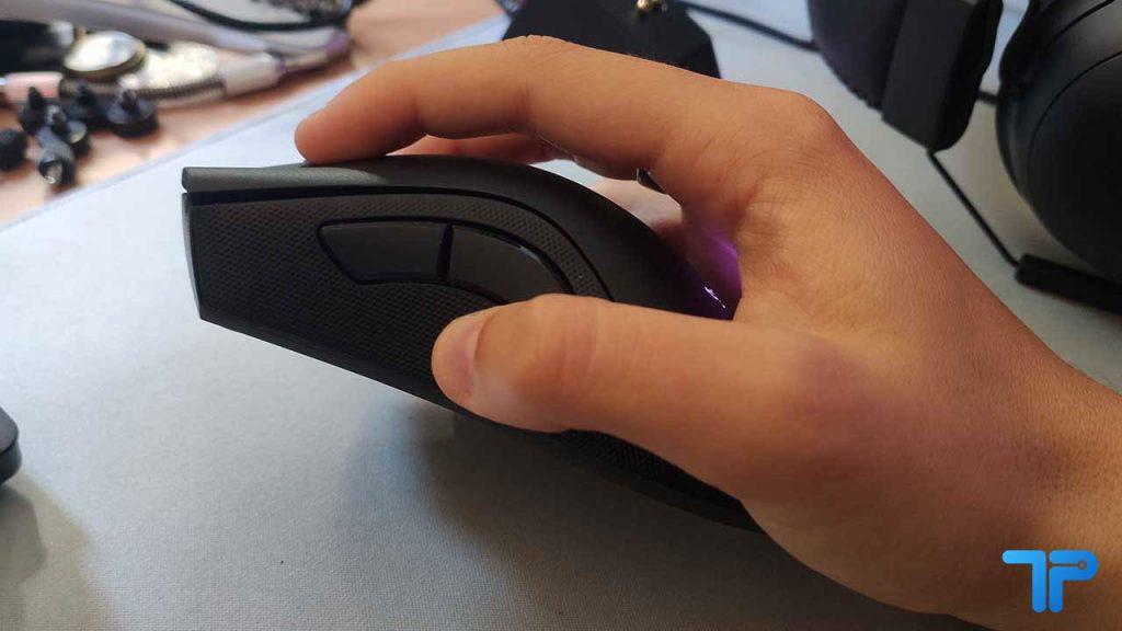 claw grip side