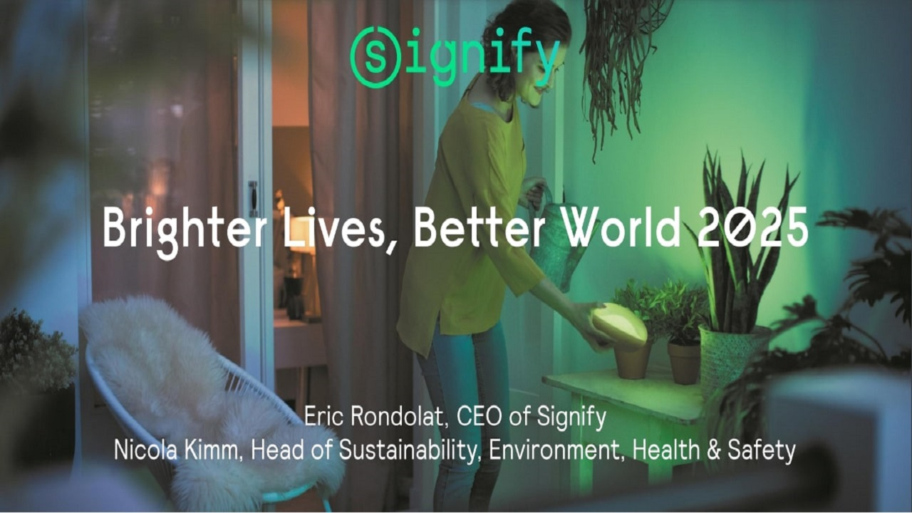 Signify diventa carbon neutral grazie all'energia rinnovabile thumbnail