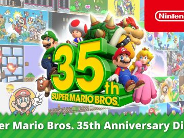 Super Mario Bros. 35th Anniversary Direct annunci