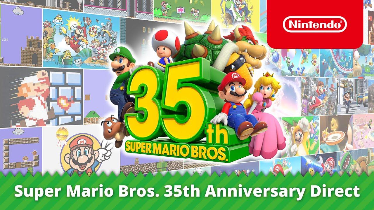Tutti gli annunci del Nintendo Direct dedicato a Super Mario Bros. thumbnail