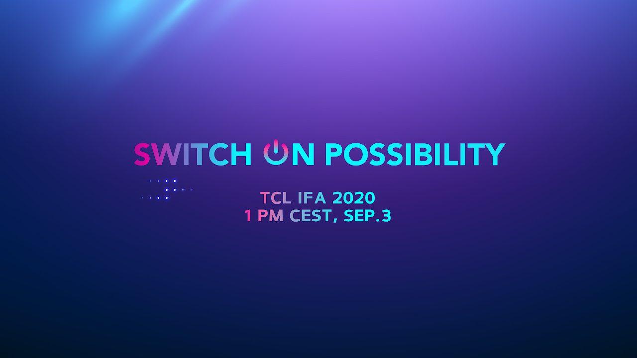 TCL presenta i suoi nuovi prodotti multi-category a IFA 2020 thumbnail