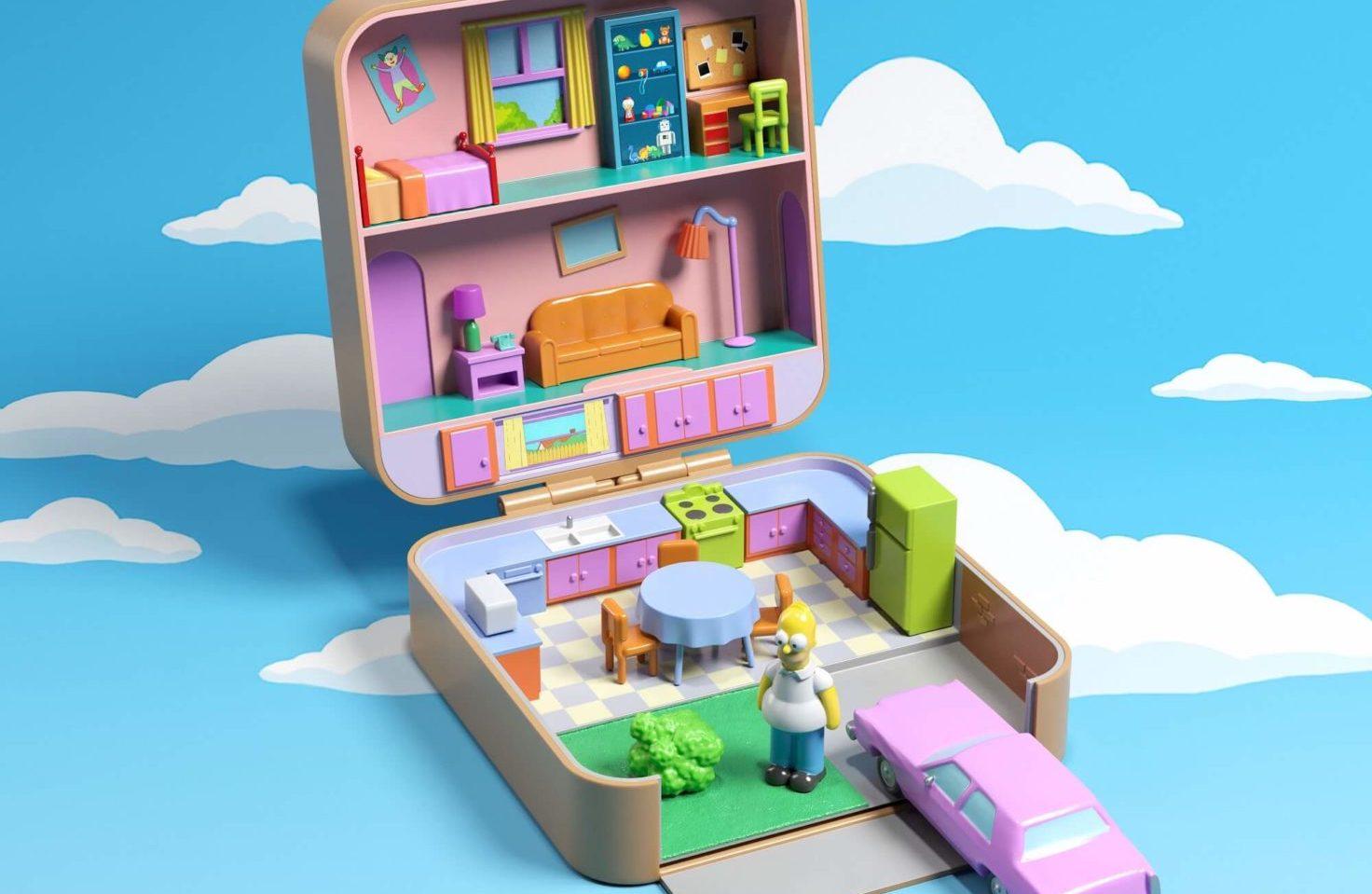 Simpsons, Friends e Stranger Things: le case delle serie cult diventano Polly Pocket thumbnail